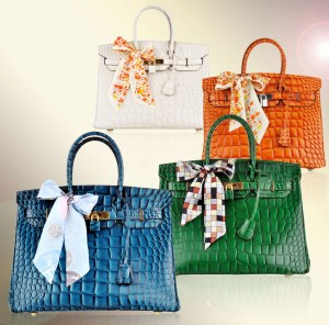Hermes Birkin Crocodile bag color